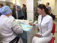Антонина Саволюк приняла участие в комплексном медицинском обследовании Центра медицинской профилактики